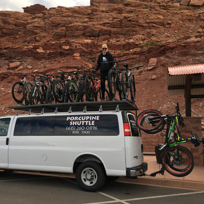 Porcupine Shuttle LLC in Moab, Utah
